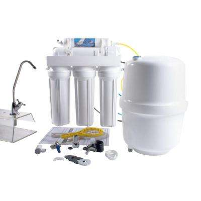 5-Stage Reverse Osmosis Water Filtration System - 100 GPD