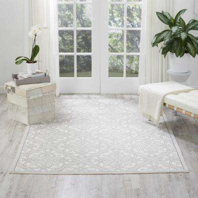 Sun and Shade Stone 3 ft. x 5 ft. Indoor/Outdoor Area Rug