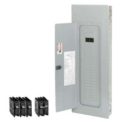 200 Amp 40-Space 50-Circuit Type-BR Main Breaker Load Center Value Pack Includes 4 Breakers