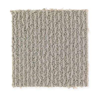 Untitled Thought - Color Reflective Grey Loop 12 ft. Carpet