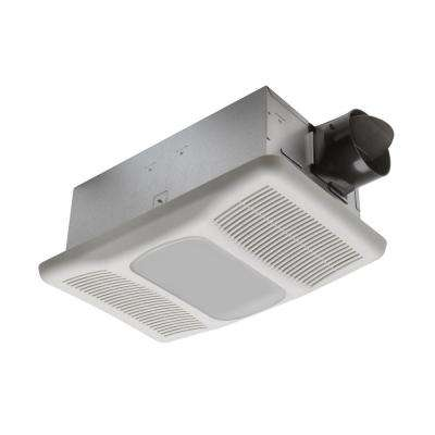Radiance 80 CFM Ceiling Exhaust Fan with Light and Heater
