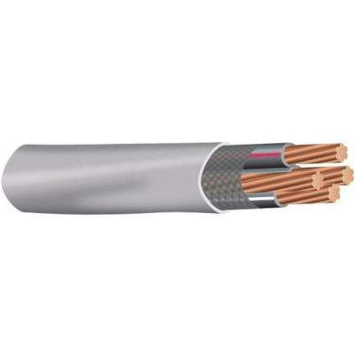 (By-the-Foot) 3-3-3-5 Gray Stranded CU SER Cable