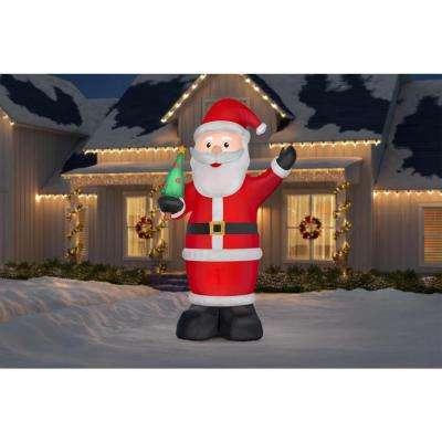 14 ft. Pre-lit Inflatable Santa