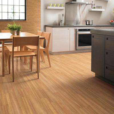 Gallantry Sapling 6 in. x 36 in. Resilient Vinyl Plank Flooring (53.48 sq. ft. / case)