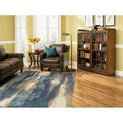 Wendall Blue 10 ft. x 14 ft. Indoor Area Rug