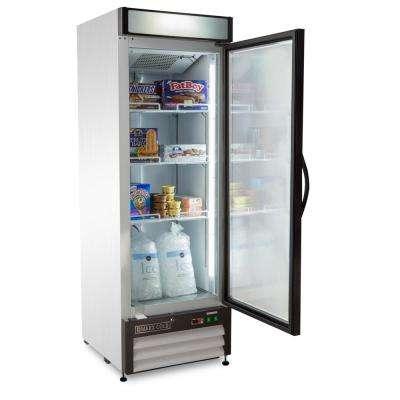 X-Series 16 cu. ft. Single Door Commercial Upright Merchandiser Freezer