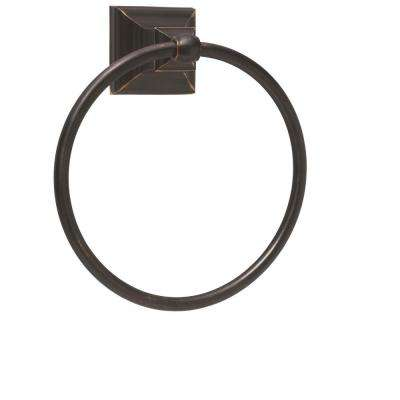 Markham Towel Ring in Oil Rubbed Bronze