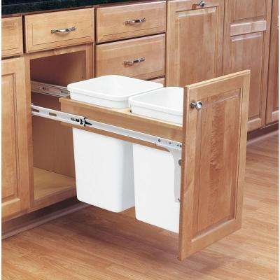 kitchen trash cabinet pull out pull out trash cans kitchen cabinet organizers the 8674