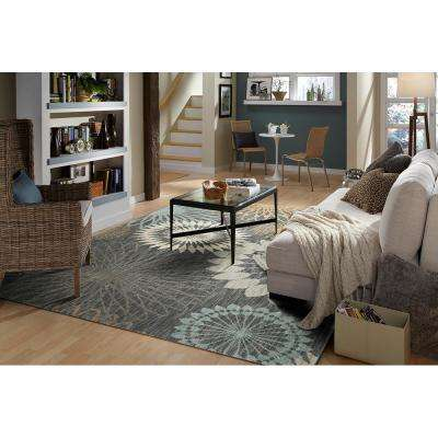 Canon Abyss Blue 10 ft. x 13 ft. Area Rug