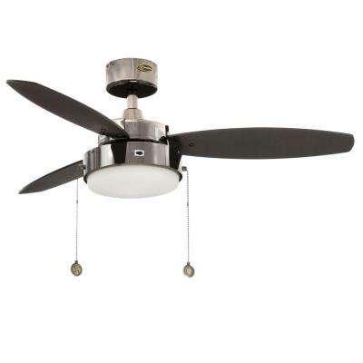 Alloy 42 in. Indoor Gun Metal Ceiling Fan