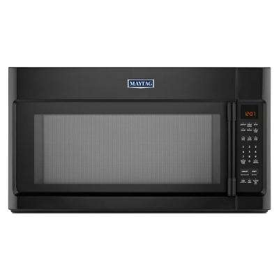 30 in. W 2.0 cu. ft. Over the Range Microwave in Black with Sensor Cooking
