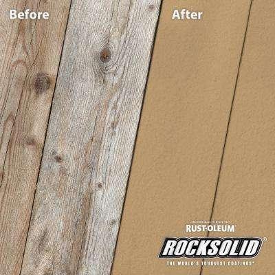 4 gal. Sandstone Exterior 20X Deck Resurfacer