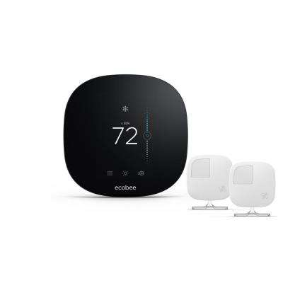 3 Lite 7-Day Programmable Smart Thermostat with  2-Pack Room Sensors