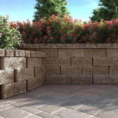 ProMuro 3 in. x 5.25 in. x 14 in. Ozark Blend Concrete Wall Cap (150 Pcs. / 65.6 Lin. ft. / Pallet)