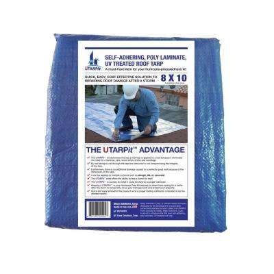 8 ft. x 10 ft. Blue Roofing Tarp
