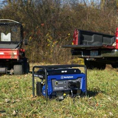 3,600-Watt Gasoline Powered RV-Ready Portable Generator with Automatic Low Oil Shutdown
