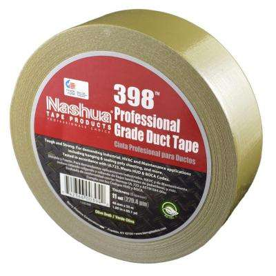 1.89 in. x 60.1 yds. 398 All-Weather Olive Drab HVAC Duct Tape