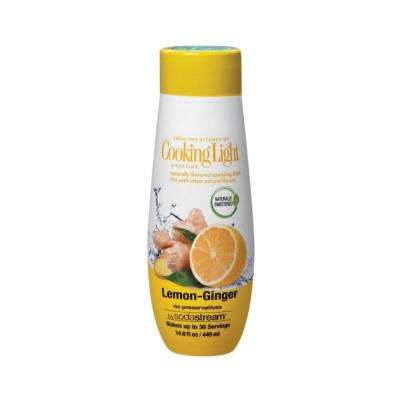 440 ml Cooking Light Sparkling Lemon Ginger Drink Mix (Case of 4)