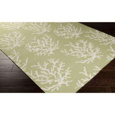 Somerset Bay Lettuce Leaf 3 ft. x 8 ft. Flatweave Runner Rug