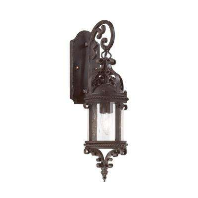 Pamplona Old Bronze Outdoor Wall Mount Lantern
