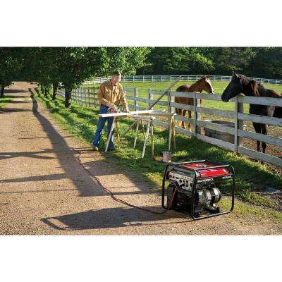 4000-Watt Gasoline Powered Portable Generator with GFCI Duplex Outlet Protection and GX270 OHV Commercial Engine