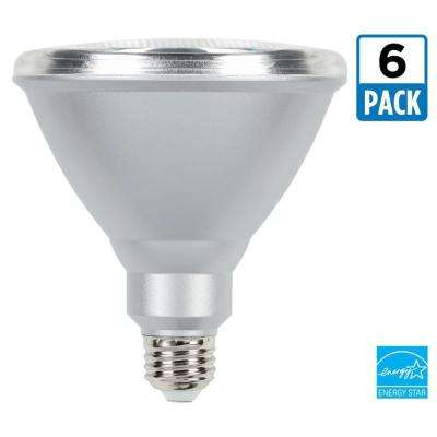 90W Equivalent Cool White PAR38 Dimmable LED Flood Light Bulb (6-Pack)