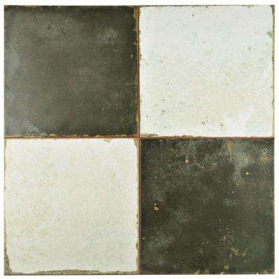 Kings Damero 17-3/4 in. x 17-3/4 in. Ceramic Floor and Wall Tile (11.3 sq. ft. / case)