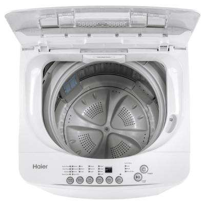 2.1 cu. ft. Portable Top Load Washer in White