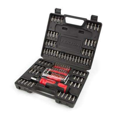 Everybit Ratchet Screwdriver and Bit Set (135-Piece)