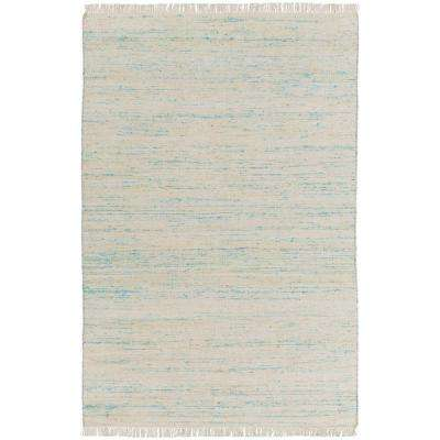 Maxfield White 3 ft. x 5 ft. Indoor Area Rug