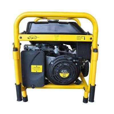 7000-Watt Gasoline Powered Portable Generator with Wheel Kit
