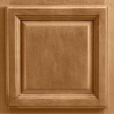 13x12-7/8 in. Cabinet Door Sample in Portland Maple Mocha Glaze