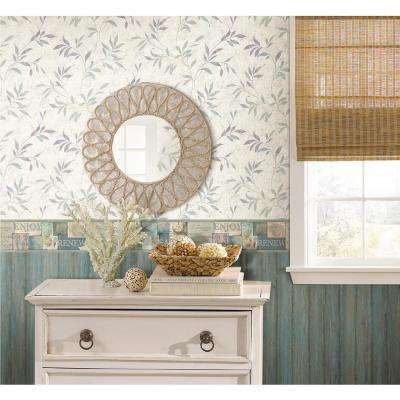 Sagamore Blue Cape Cod Blue Wallpaper Sample