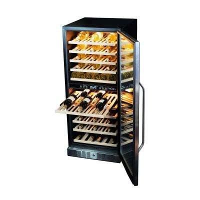 116-Bottle Dual Zone Built In Wine Cooler