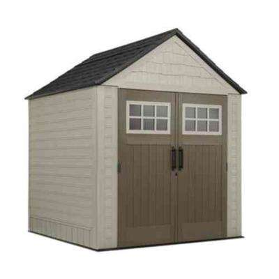 Big Max 7 ft. x 7 ft. Storage Shed with Free Utility Hook