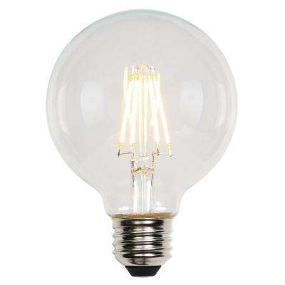 60W Equivalent Cool Bright (3000K) T7 Medium Base Dimmable LED Light Bulb