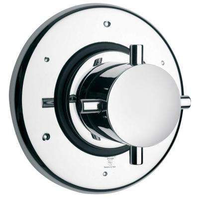 Water Harmony 3-Way Diverter Valve in Chrome
