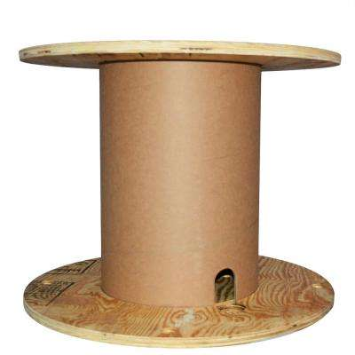 23.75L x 23.75W x 18.5H N5-FD Plywood Reel with Fiber Drum