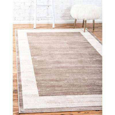 Uptown Collection by Jill Zarin™ Yorkville Light Brown 8' 0 x 10' 0 Area Rug