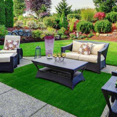 6 ft. x 8 ft. Artificial Grass Rug