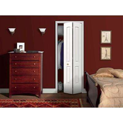 24 in. x 80 in. Continental Primed Smooth Molded Composite MDF Closet Bi-fold Door