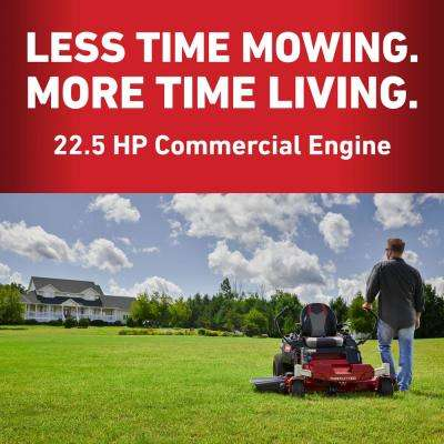 42 in. 22.5 HP TimeCutter Commercial V-Twin Gas Dual Hydrostatic Zero-Turn Riding Mower with Smart Speed