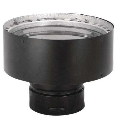 PelletVent 3 in. x 6 in. Double-Wall Chimney Pipe Adapter
