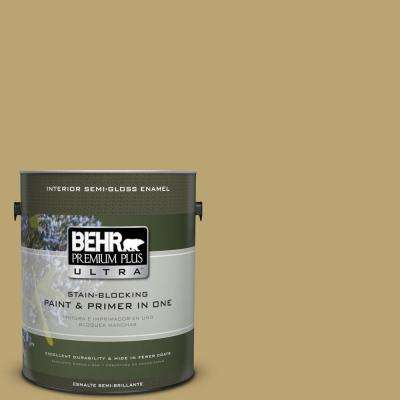 Home Decorators Collection 1-gal. #HDC-AC-16 Cumin Semi-Gloss Enamel Interior Paint