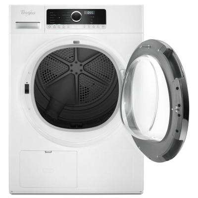 4.3 cu. ft. 240-Volt White Compact Stackable Heat Pump Ventless Dryer with Wrinkle Shield Option, ENERGY STAR