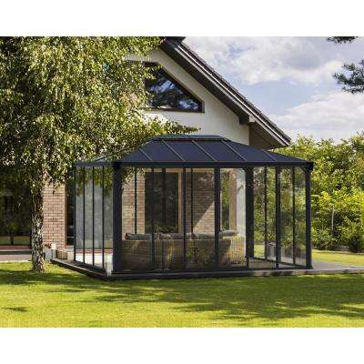 Ledro 4300 14 ft. x 10 ft. Enclosed Gazebo and Spa Enclosure
