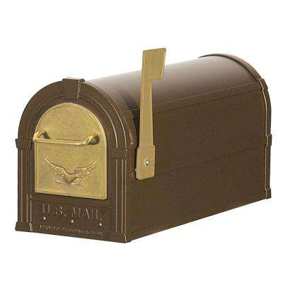4800 Series Eagle Rural Post-Mount Mailbox