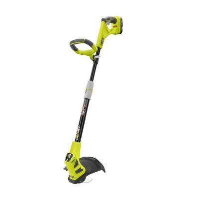 ONE+ 18-Volt Lithium-Ion Hybrid Electric Cordless String Trimmer/Edger