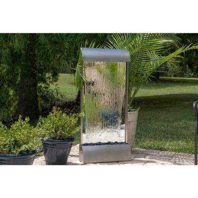 Breckenridge Stainless Steel Floor/Wall Fountain