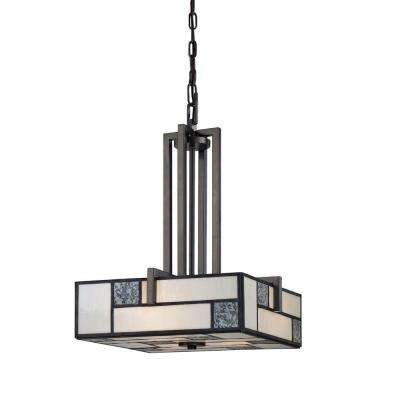 Bradley 3-Light Charcoal Interior Incandescent Pendant
